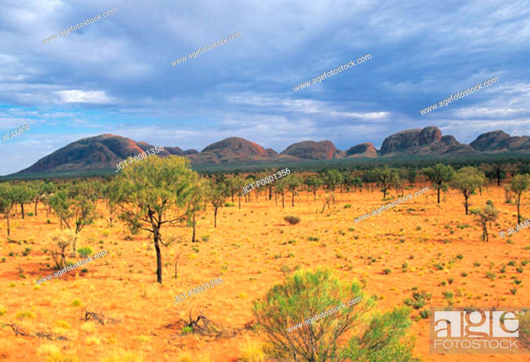 Stock Photo: Australia, northern territories, Uluru national park.