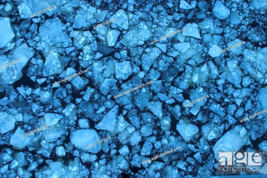 Stock Photo: gray, concrete, rocks, stones, pebbles, surface.