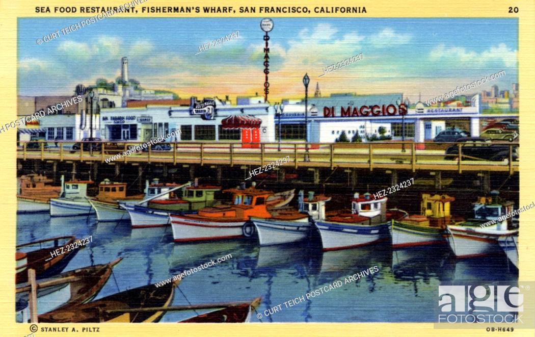Seafood Restaurant Fisherman S Wharf San Francisco