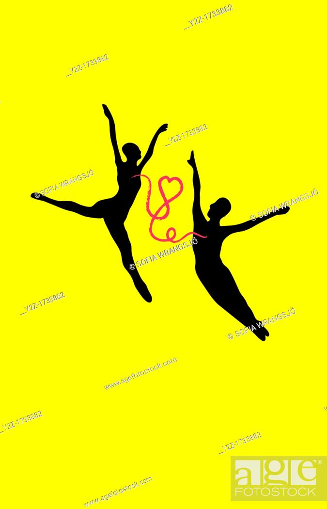 Stock Photo: Dance and love.