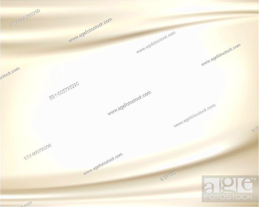 Stock Vector: White silk backgrounds.