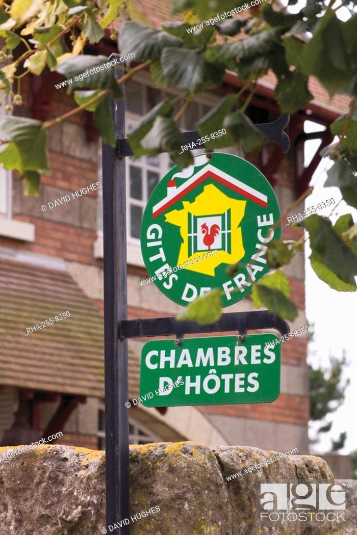 Gites De France And Chambres D Hotes Sign St Valery Sur Somme
