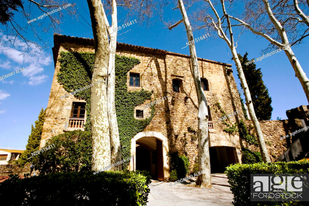 Gala Dalí Castle museum-house in Pubol  Baix Emporda  Girona