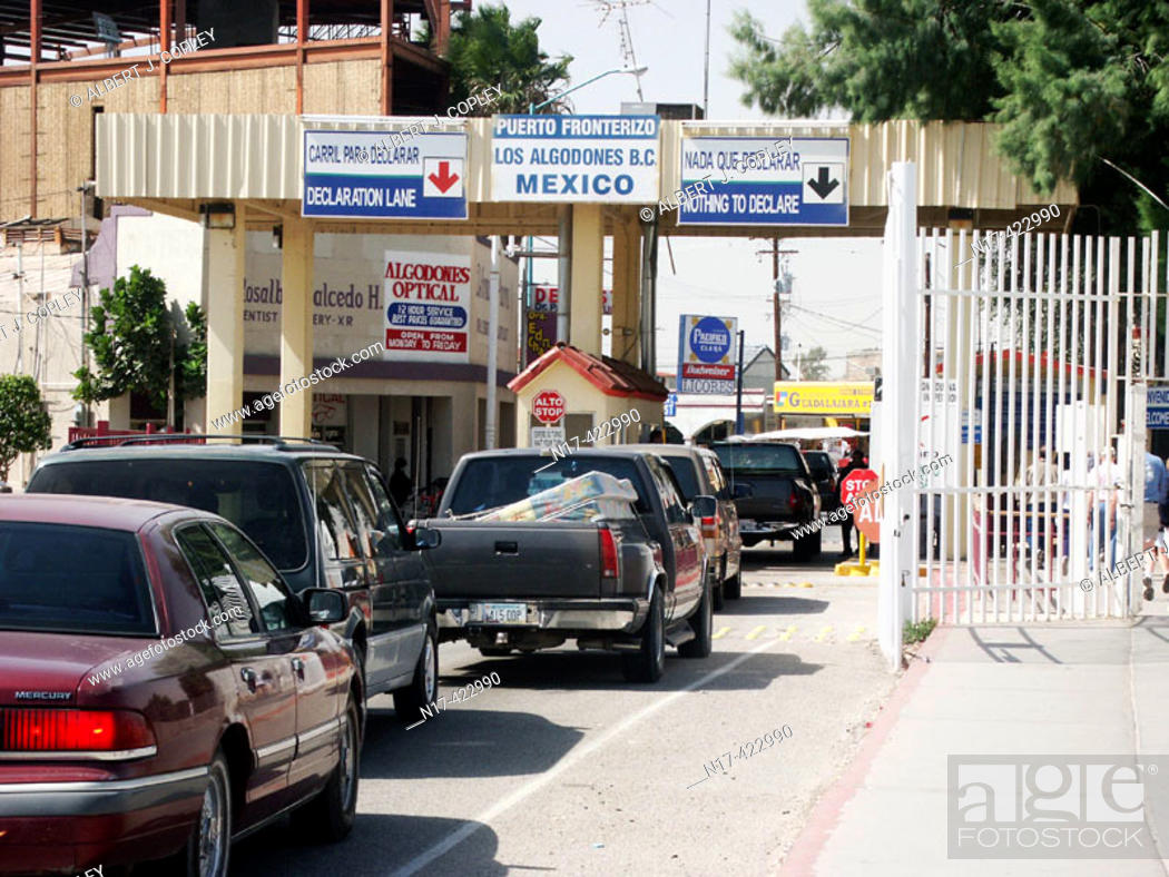 Stock Photo: Customs. Mexico.