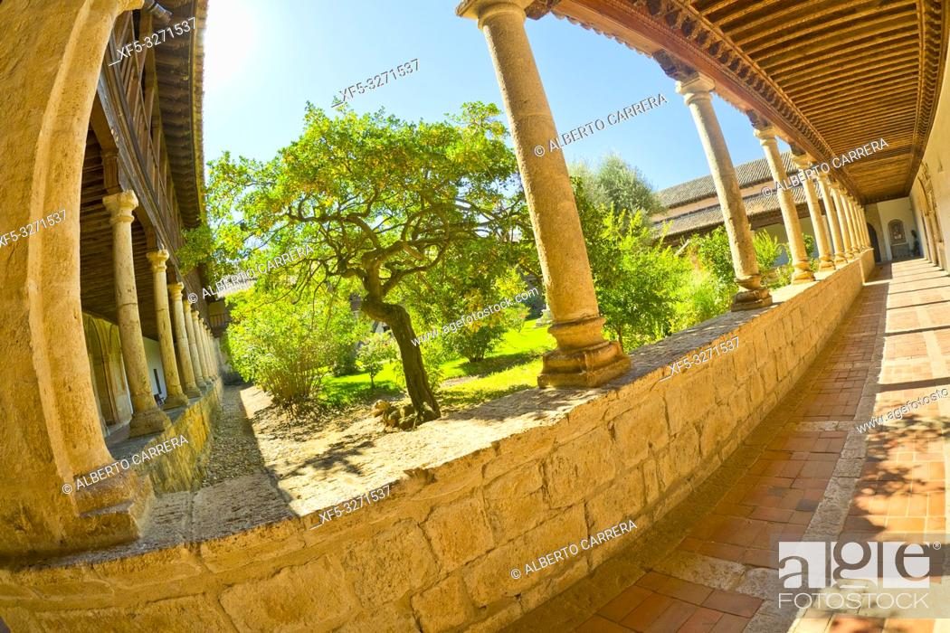 Stock Photo: Sancti Spiritus el Real Monastery, Toro Museum of Sacred Art, Heritage Cultural Property, Toro, Zamora, Castilla y León, Spain, Europe.