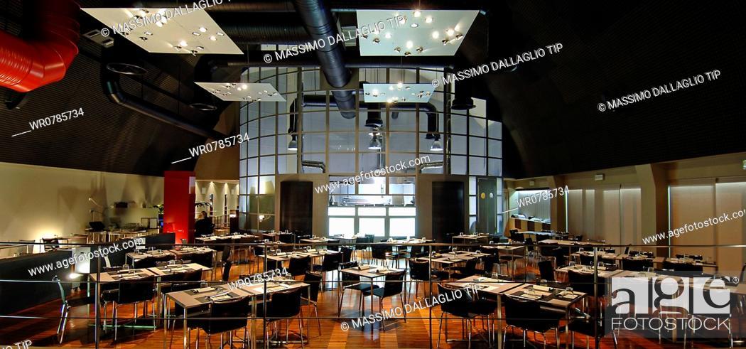 Imagen: Empty restaurant.