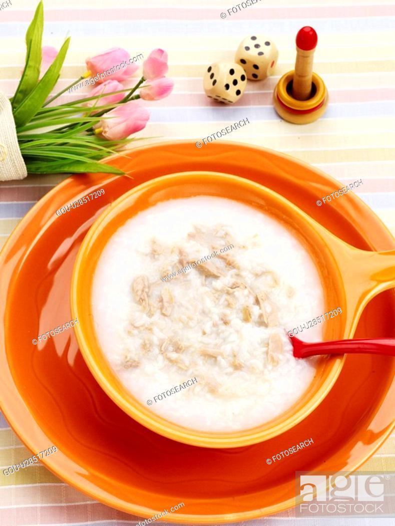 Stock Photo: Tuna gruel, cuisine, gruel, korean cuisine, korean food, food.