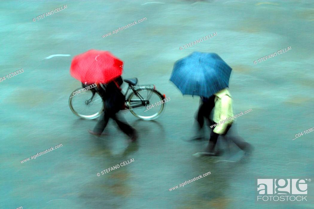 Stock Photo: Rain.