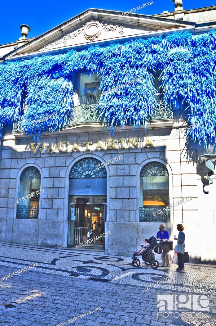 Imagen: Via Catarina shopping centre, Rua de Santa Catarina,  Porto, Portugal.