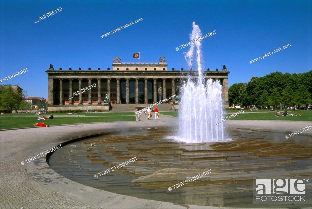 Stock Photo: Germany - Berlin - Lustgarten.