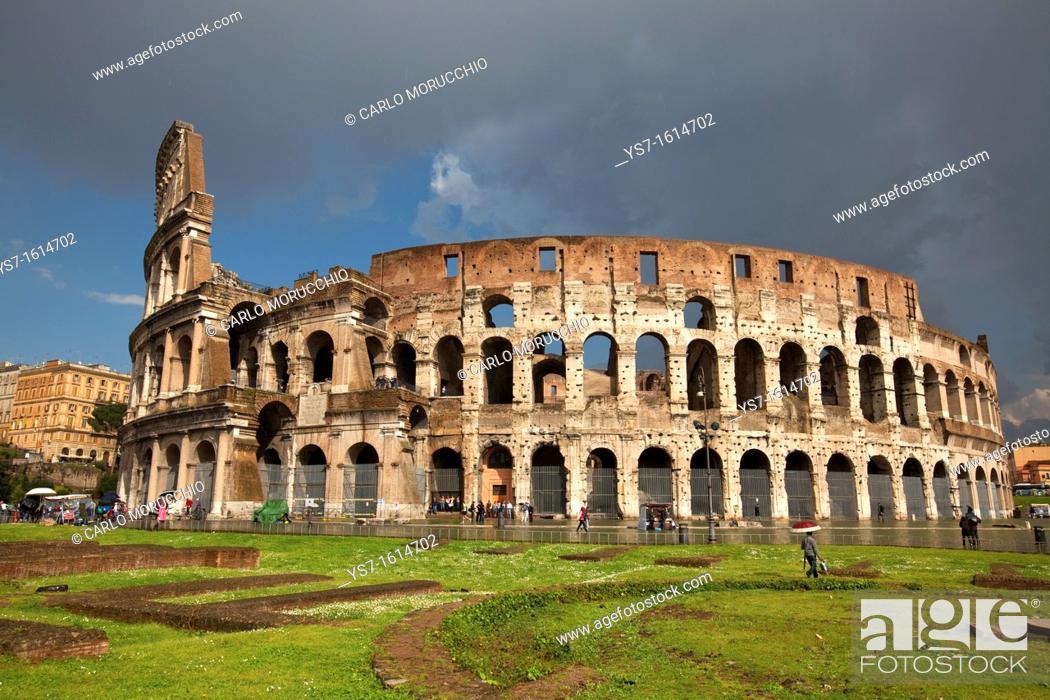 Imagen: The Colosseum, Rome, Lazio, Italy, Europe.
