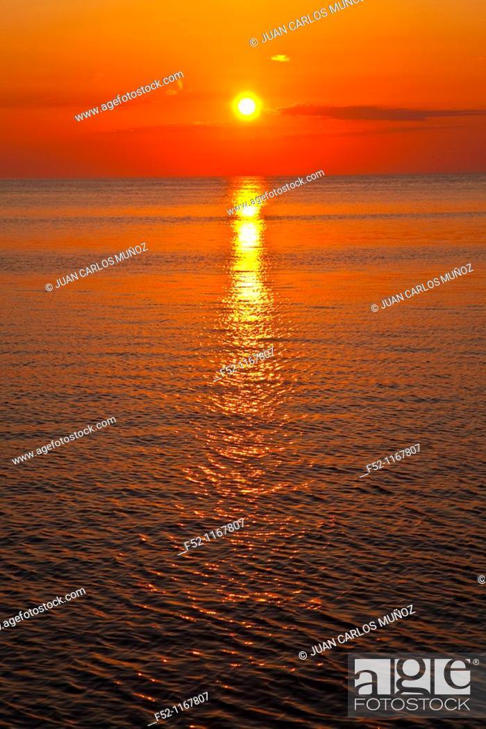 Stock Photo: Illa Grossa, Columbretes Islands, Castellon province, Comunidad Valenciana, Spain.