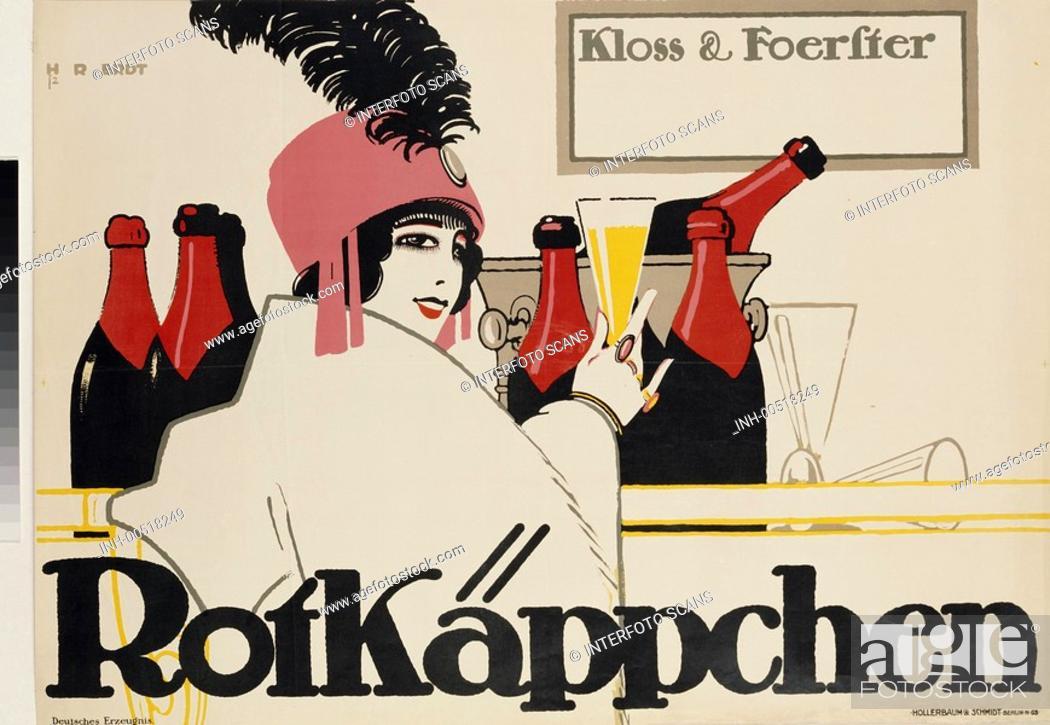 Ü SG hist , Werbung, Getränke, Alkohol, Sekt, Rotkäppchen ...