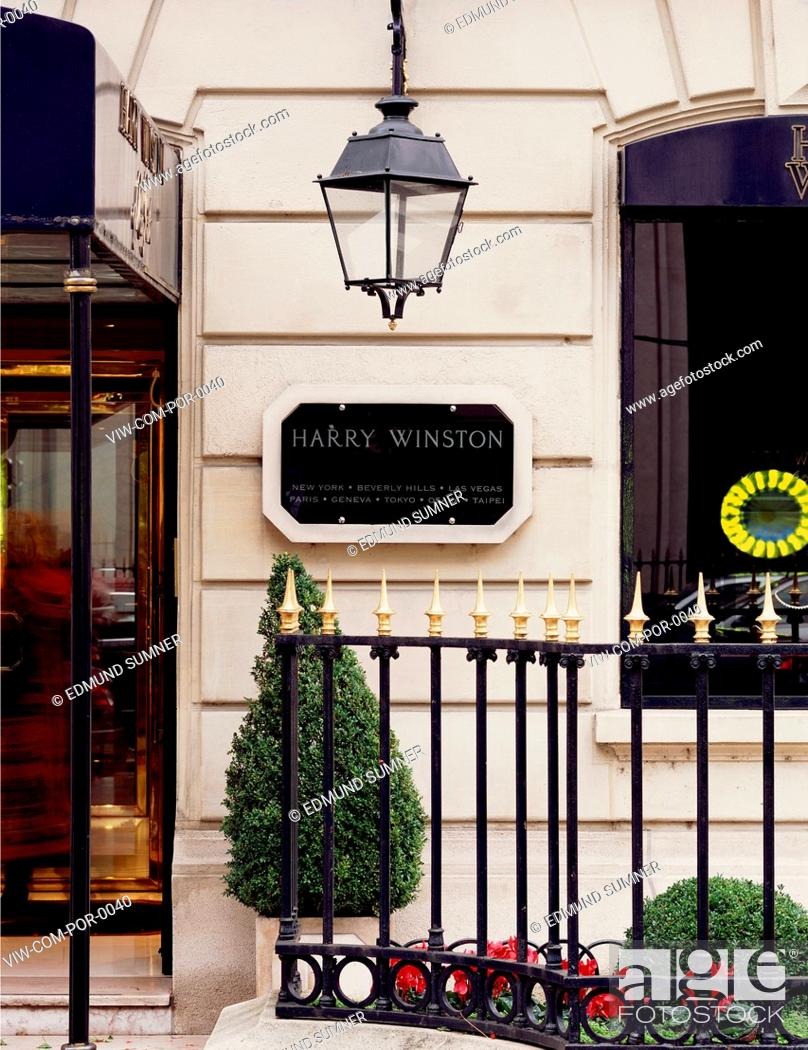 HARRY WINSTON JEWELRY STORE 29 AVENUE
