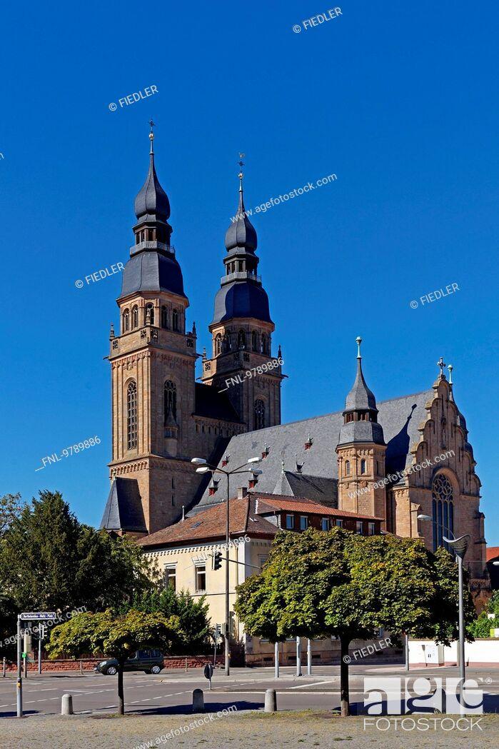 Stock Photo: Sankt-Josephs-Kirche, Speyer, Rhineland-Palatinate, Germany, Europe.