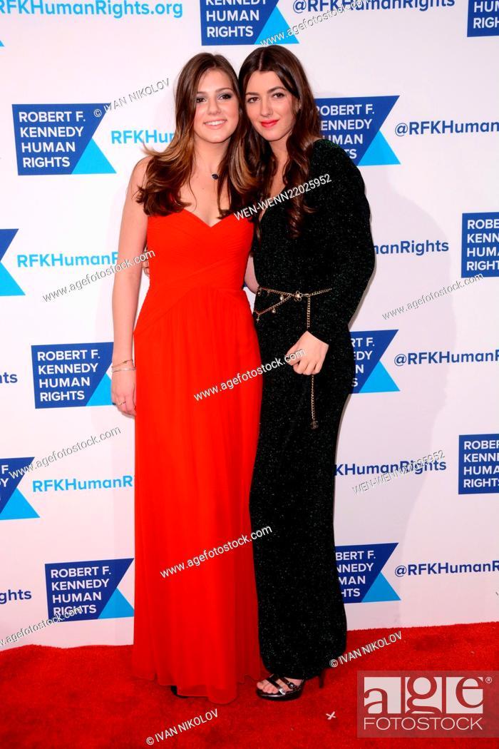 Imagen: RFK Ripple Of Hope Gala - Red Carpet Arrivals Featuring: Michaela Kennedy Cuomo, Mariah Kennedy Cuomo Where: Manhattan, New York.