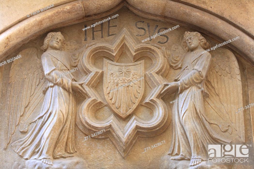 Stock Photo: Croatia, Split, relief, historic, architecture, detail.