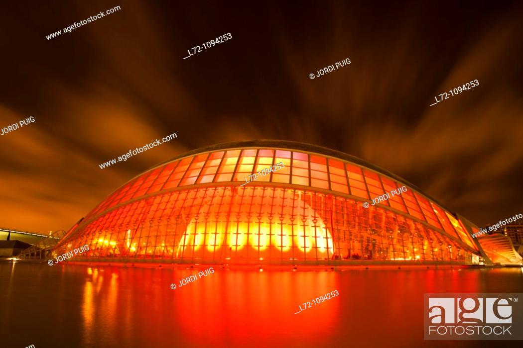 Imagen: Hemisferic, City of Arts and Sciences, Valencia, Comunidad Valenciana, Spain.