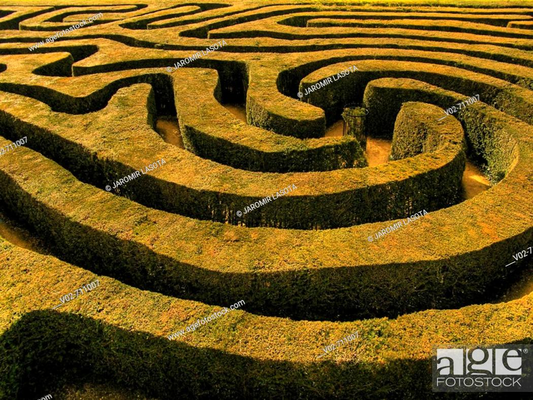 Stock Photo: Labyrinth.
