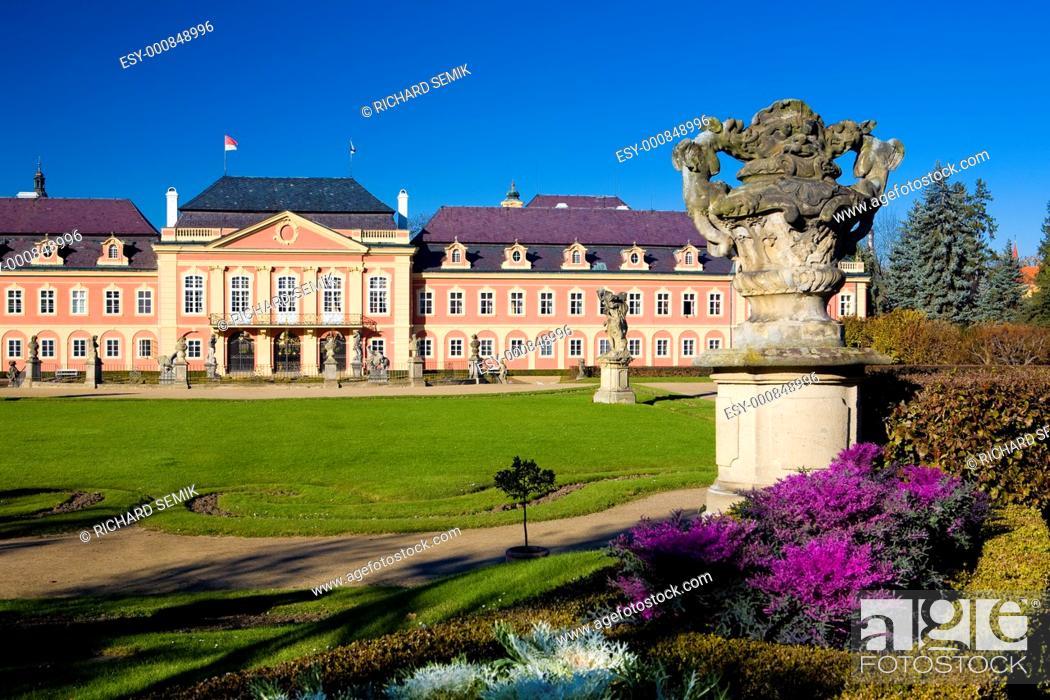 Stock Photo: Dobris Palace, Czech Republic.