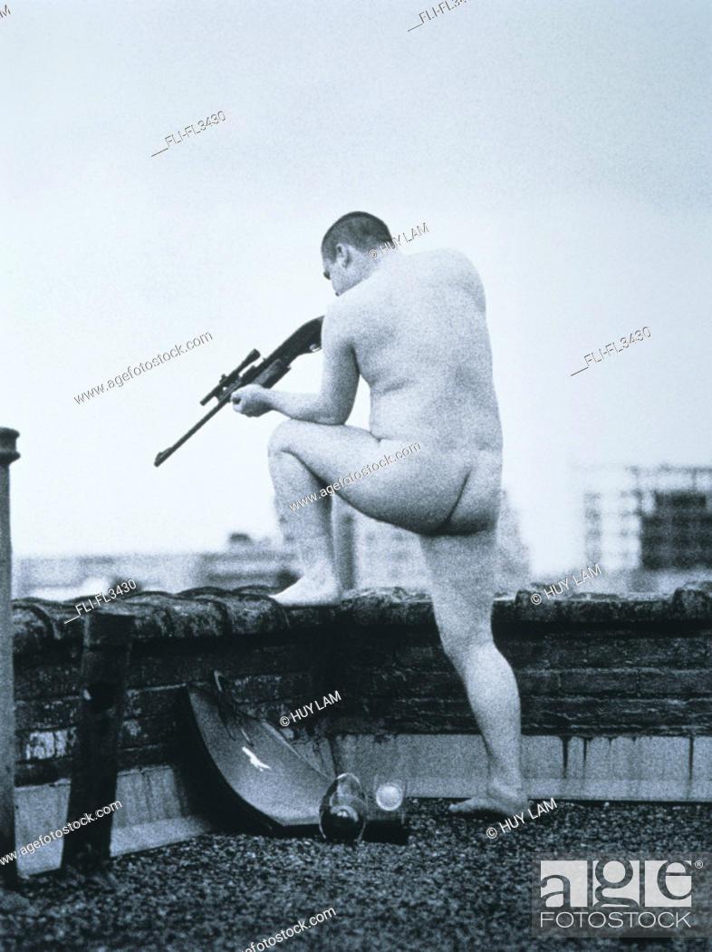 Naked gun shooting