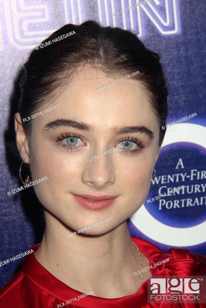 """Stock Photo: Raffey Cassidy 12/05/2018 The Los Angeles Premiere of """"""""Vox Lux"""""""" held at the Arclight Hollywood in Los Angeles, CA Photo by Izumi Hasegawa / HNW / PictureLux."""