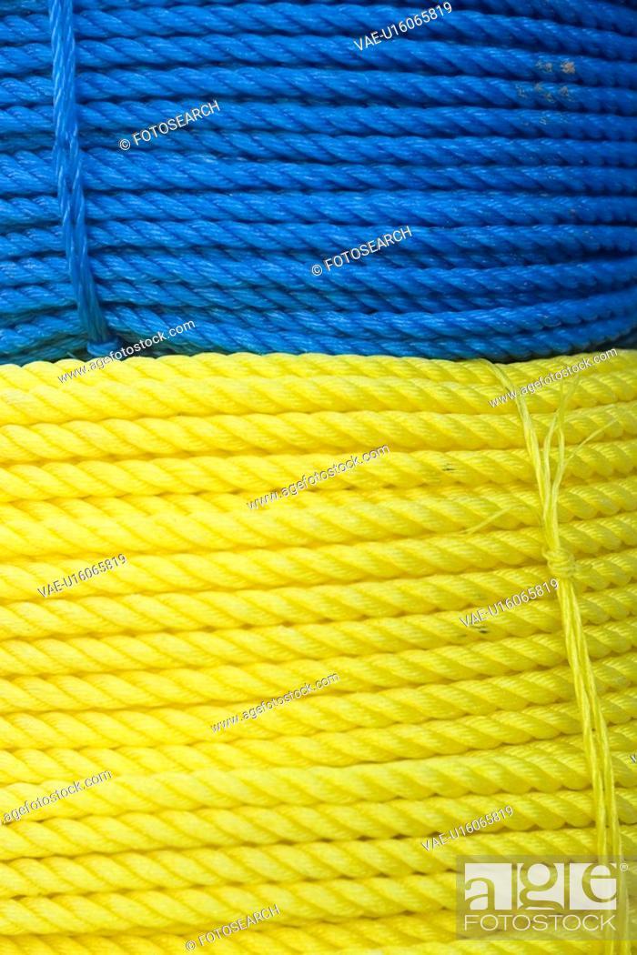 Stock Photo: Blue, Bundle, Close-Up, Full Frame.