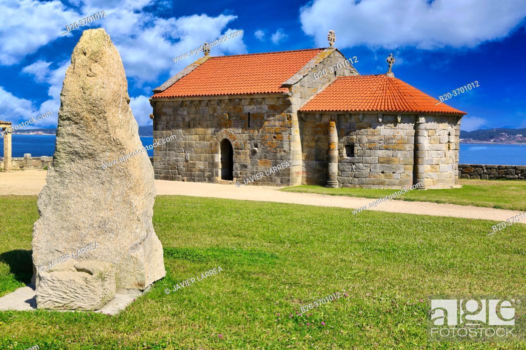 Imagen: Capila de Nuestra Señora de la Lanzada, Sanxenxo, Pontevedra province, Galicia, Spain.
