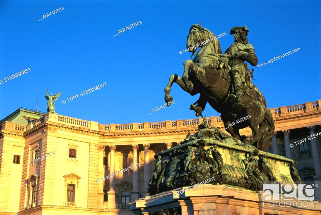 Stock Photo: Austria - Vienna - Hofburg.