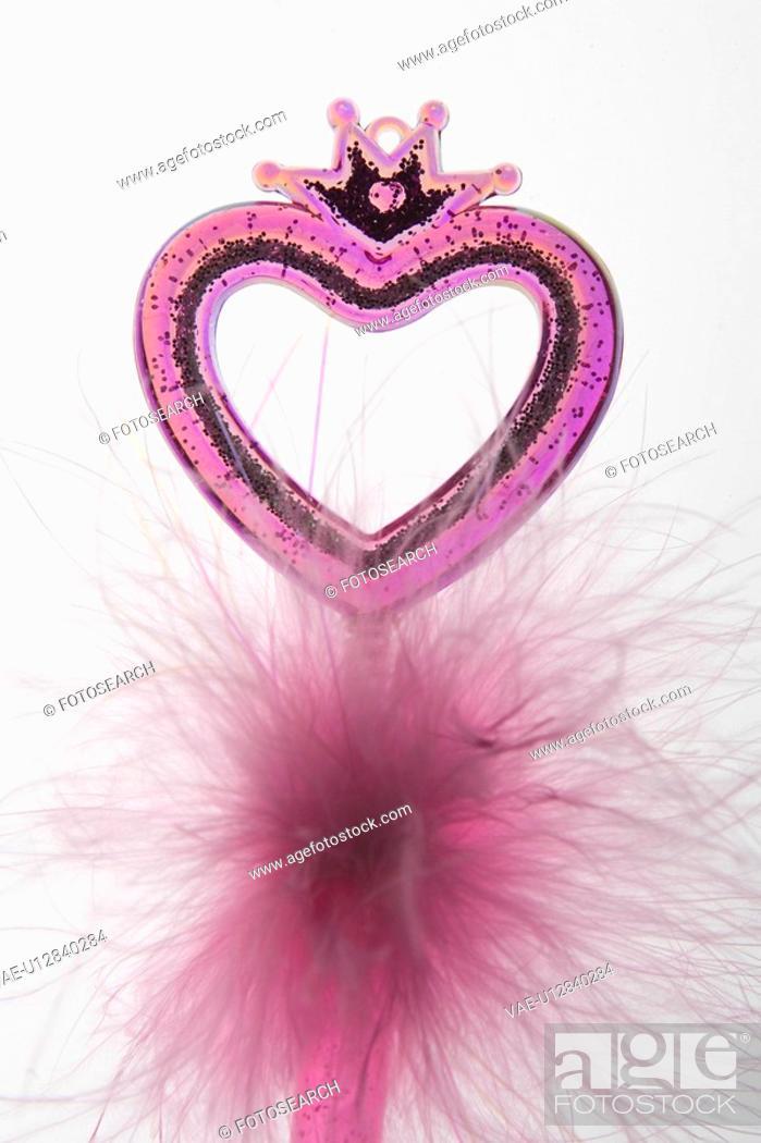 Stock Photo: Pink, White Background, Fragility, Ideas.