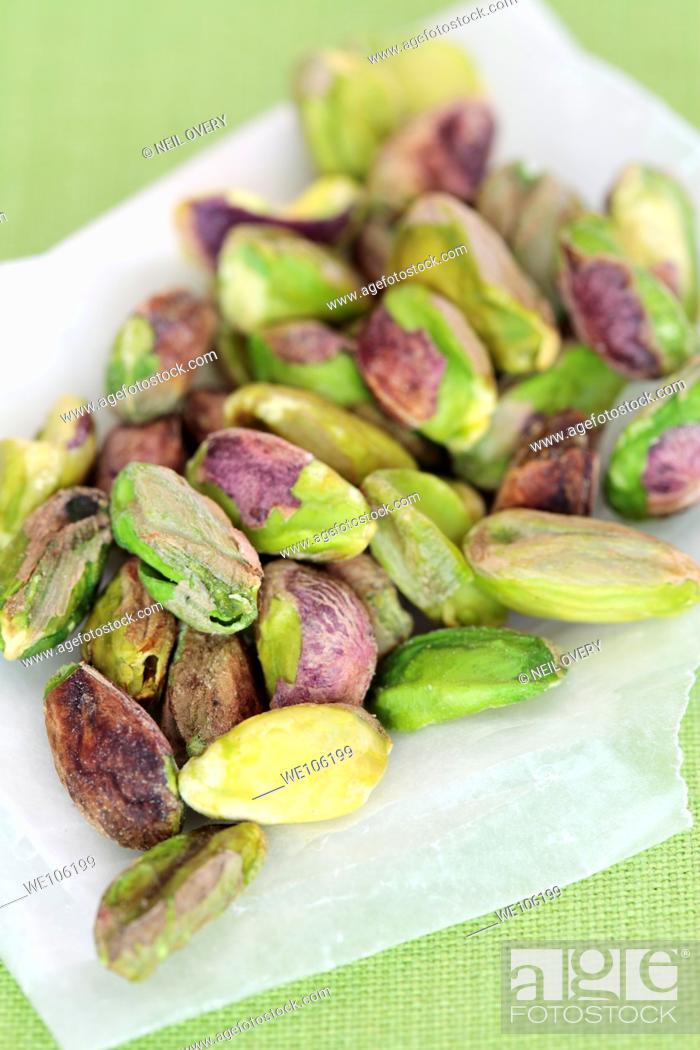 Stock Photo: Pistachio Nuts.