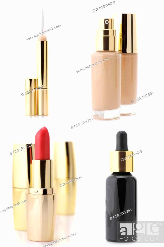 Stock Photo: Cosmetic set.
