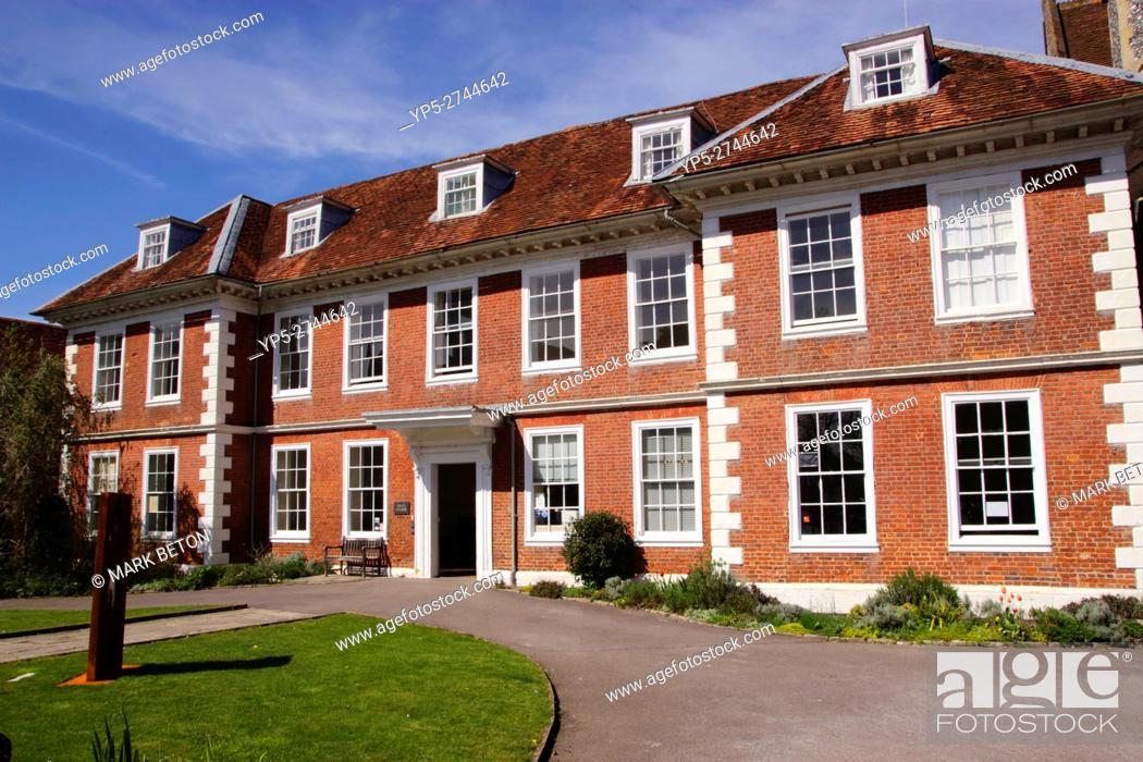 Stock Photo: Sarum Christian College Salisbury Wiltshire.