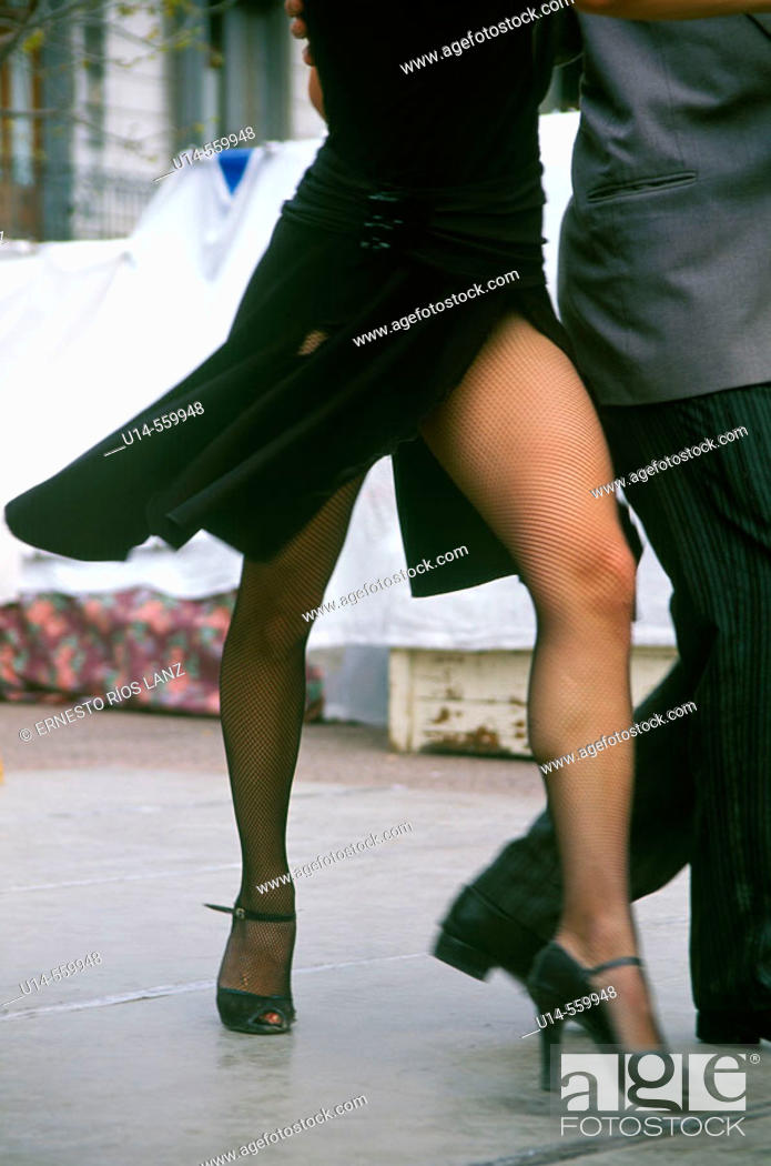 Stock Photo: Tango dancers, Buenos Aires, Argentina.