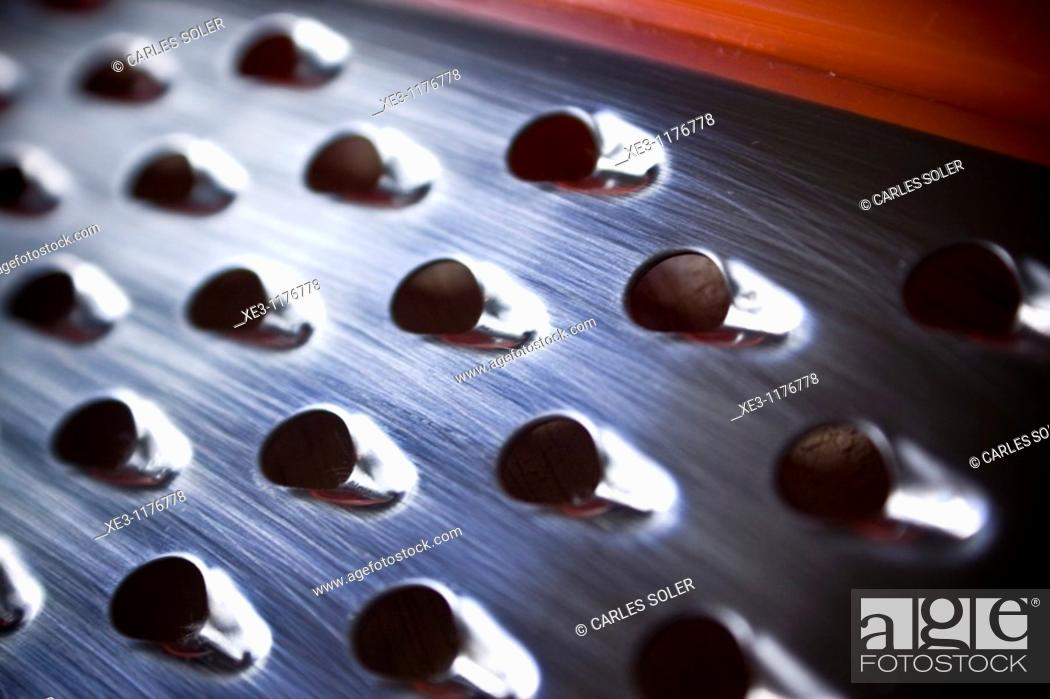 Stock Photo: Grater.
