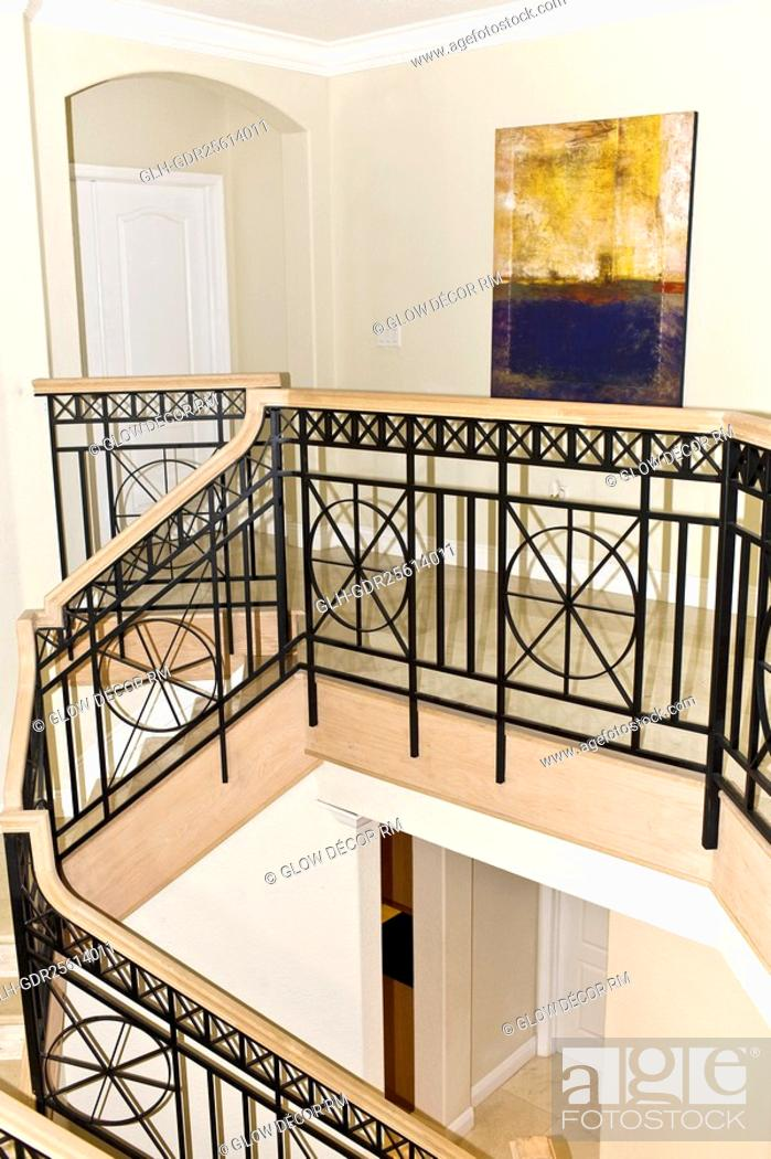 Imagen: Railing in a house.