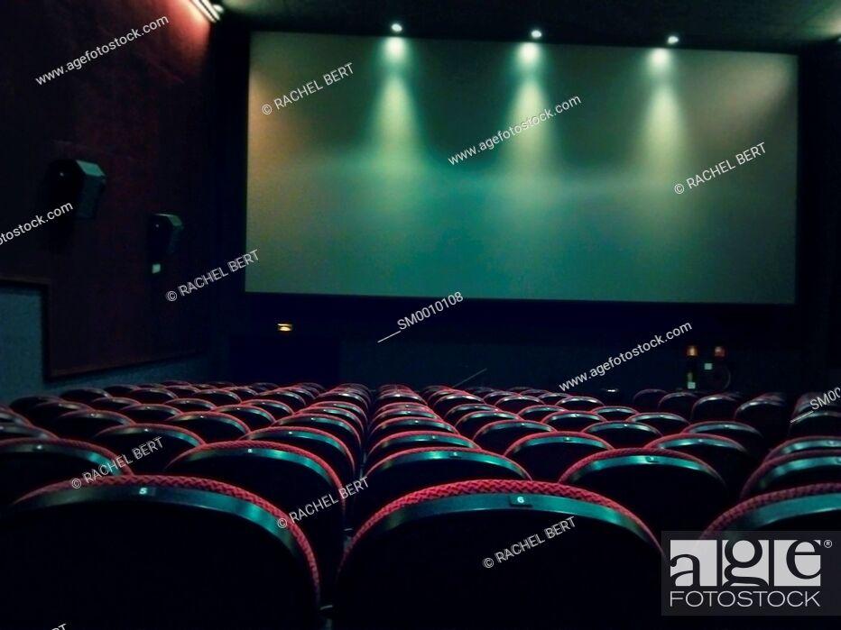 Stock Photo: Cinema.
