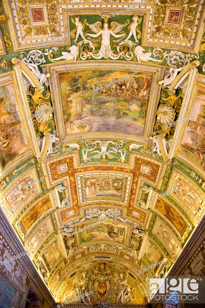 Vatican City Museums The highly decorated illuminated ... on