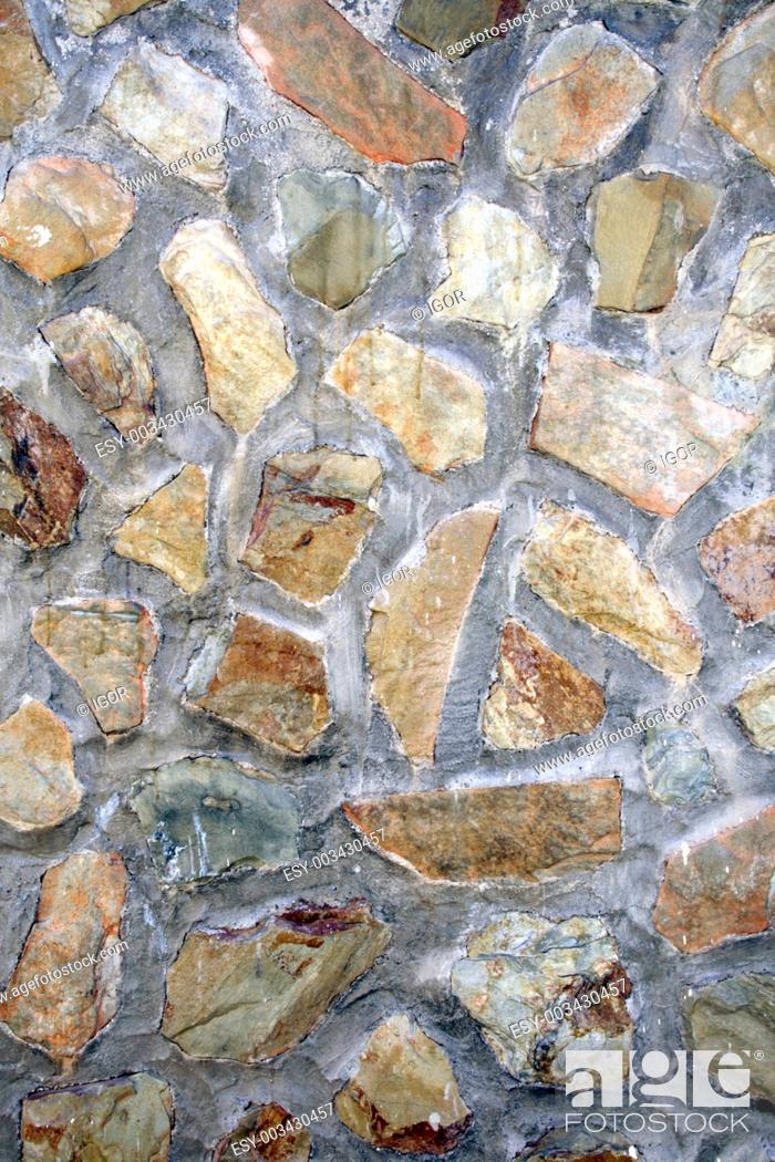 Stock Photo: Stone wall.