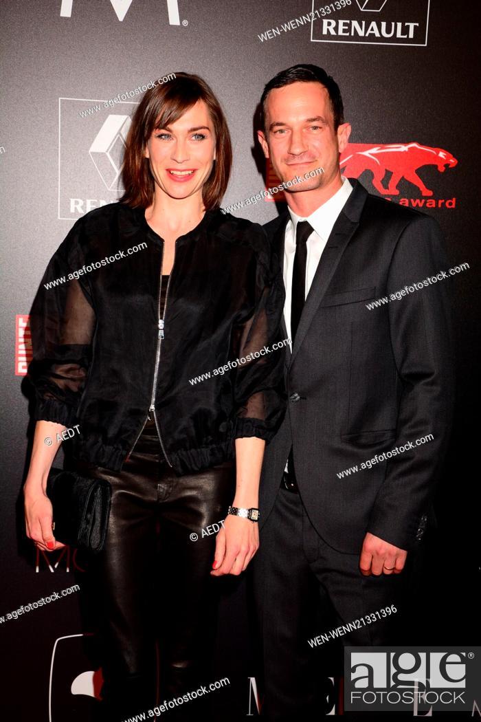 Christiane Paul and Soenke Moehring at new faces film award at E ...