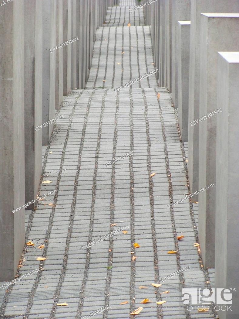 Stock Photo: HOLOCAUST MEMORIAL.