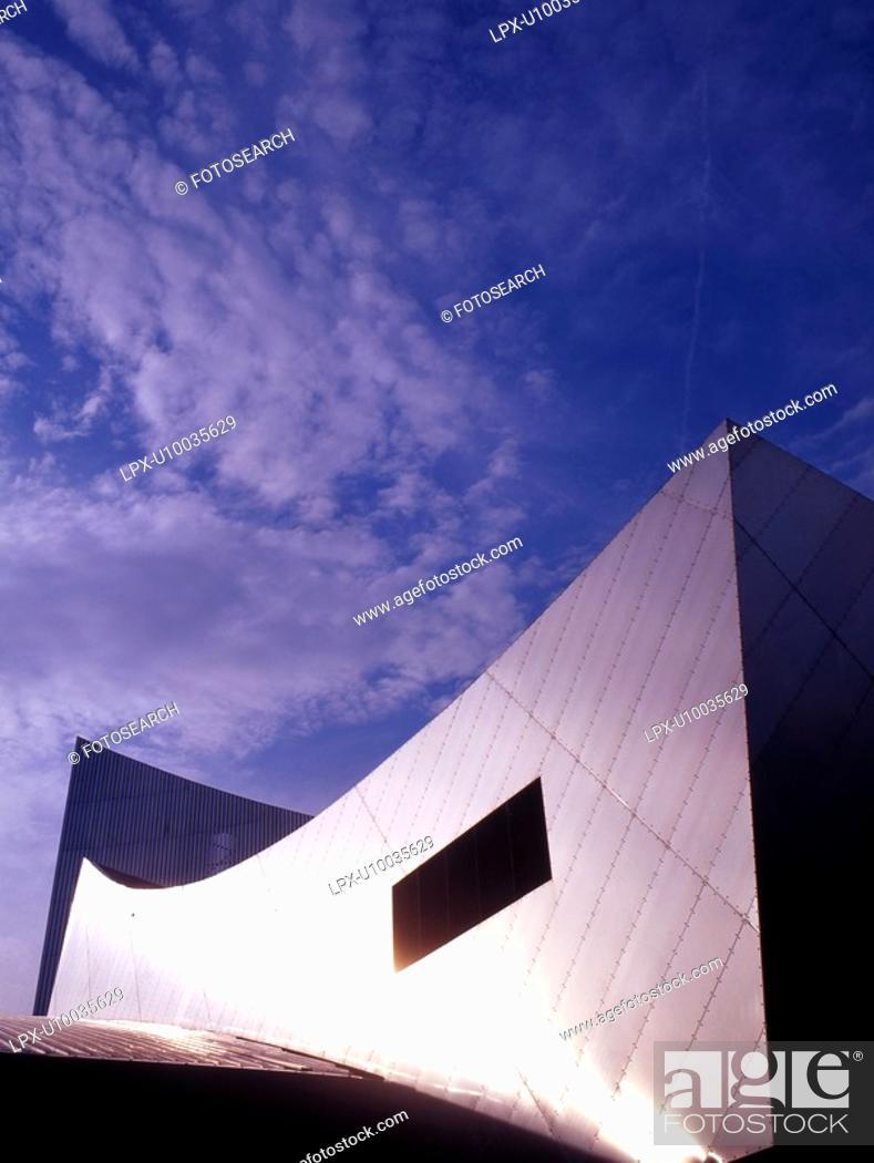 Stock Photo: Modern architecture.