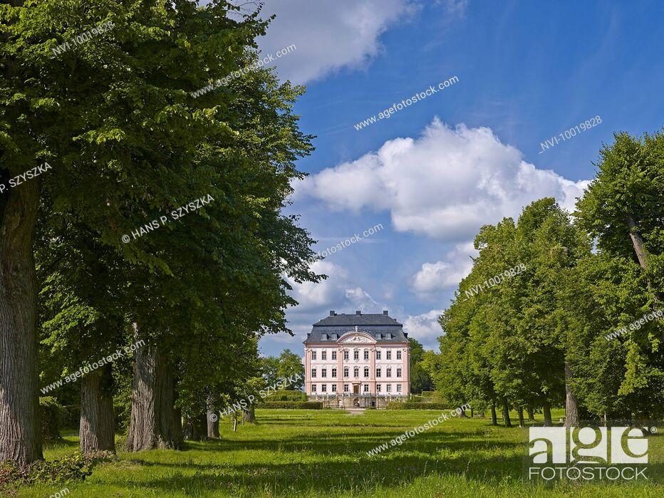 Stock Photo: Castle Oppurg near Poeßneck, Thuringia, Germany.