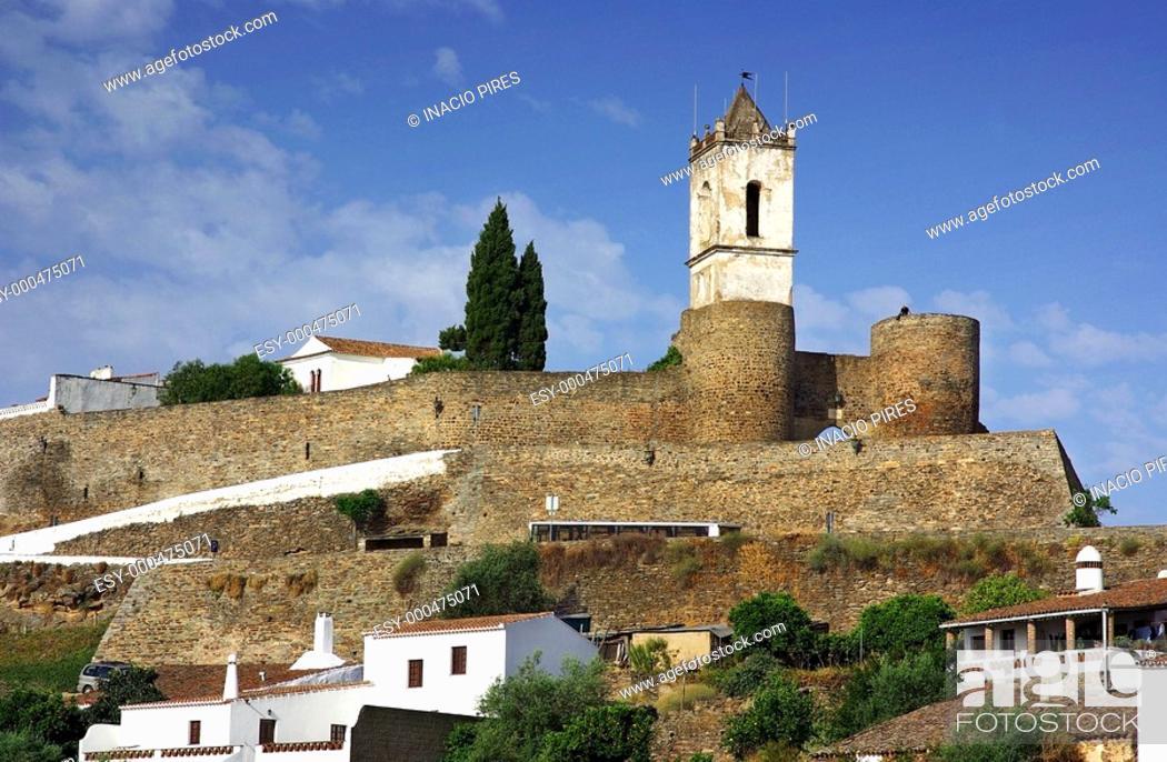 Stock Photo: Monsaraz village at Portugal.