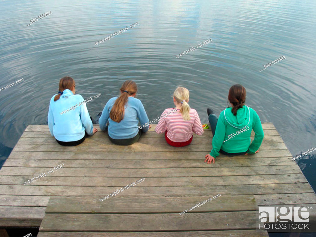 Stock Photo: Girls. Kiel, Germany.
