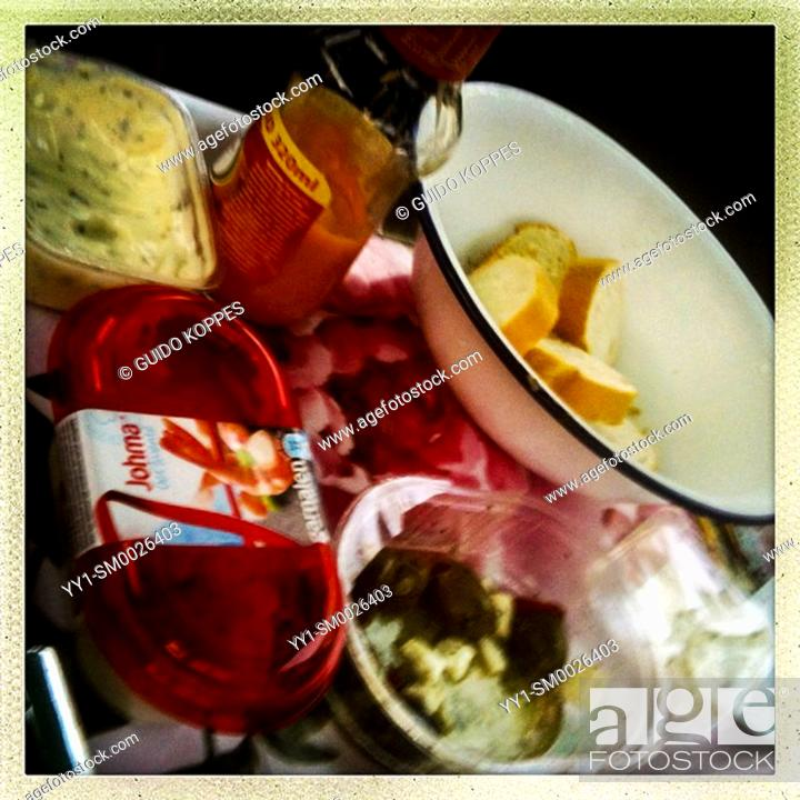 Imagen: Living Room Tray with Evening Foodies and Tapas.