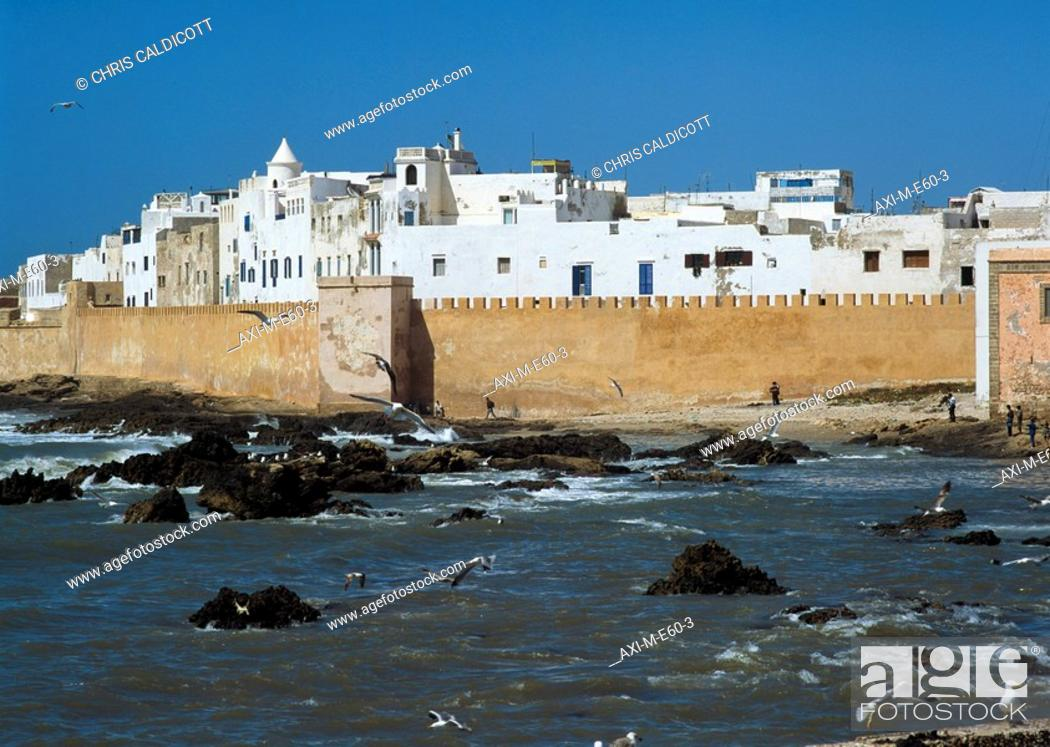 Stock Photo: Medina Essaouira, Morocco.
