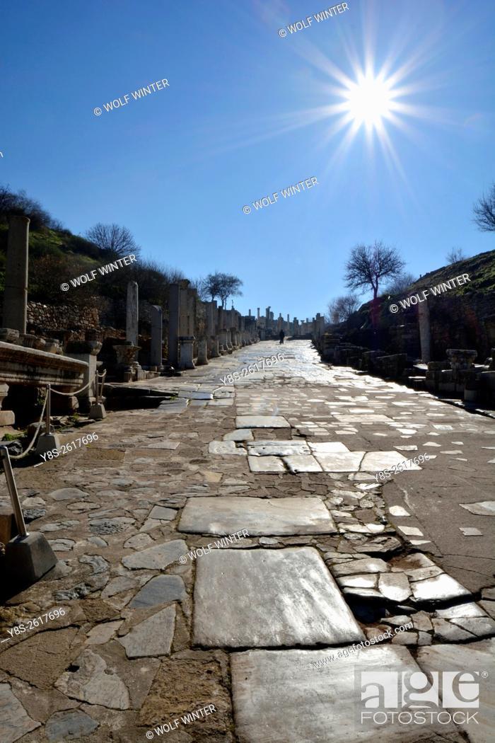 Stock Photo: Ephesus. Selcuk. Turkey.