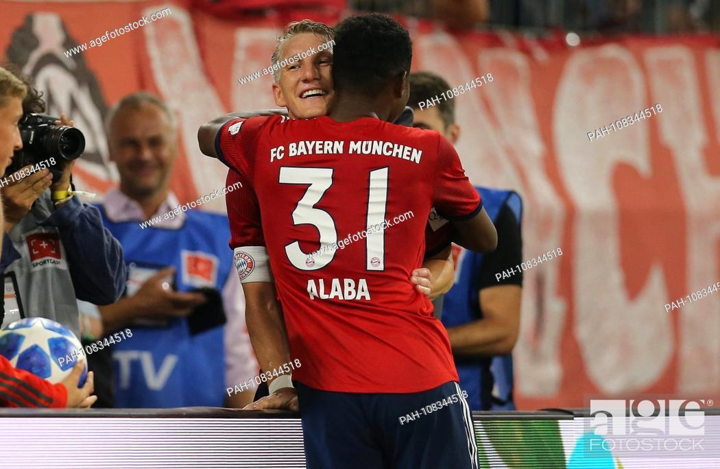 firo: 28 08 2018, Football, FC Bayern Munich - Chicago Fire