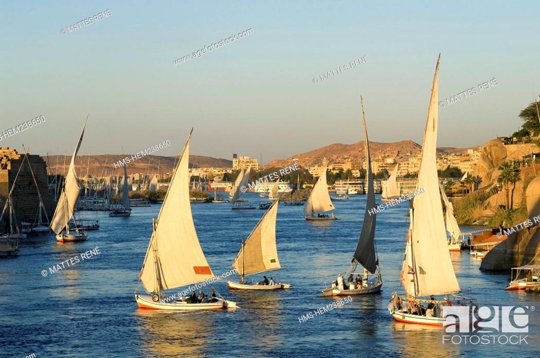 Stock Photo: Egypt, Upper Egypt, Nubia, Nile Valley, Aswan.